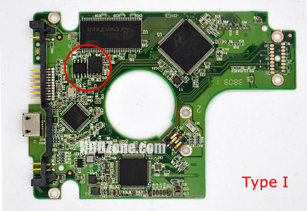2060-701675-001 Festplatten Elektronik Controller Platine WD PCB