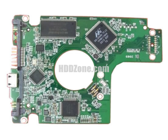 WD4000BMVV WD PCB 2060-701675-001