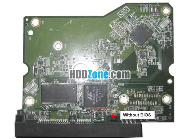 2060-771642-000 REV P1 carte PCB disque dur western digital