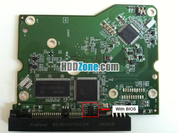 2060-771642-001 REV P1 carte PCB disque dur western digital