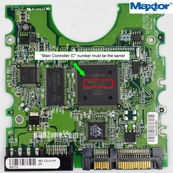 Find a Matching Hard Drive PCB - HDDzone.com