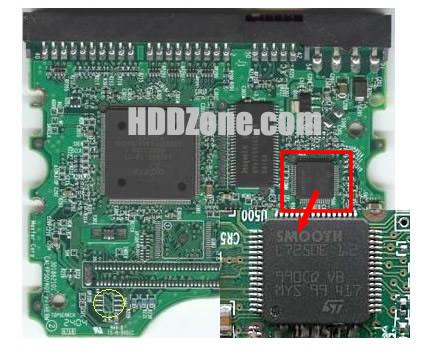 Maxtor PCB