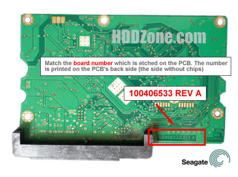 Seagate Hard Drive PCB Swap Replacement Guide