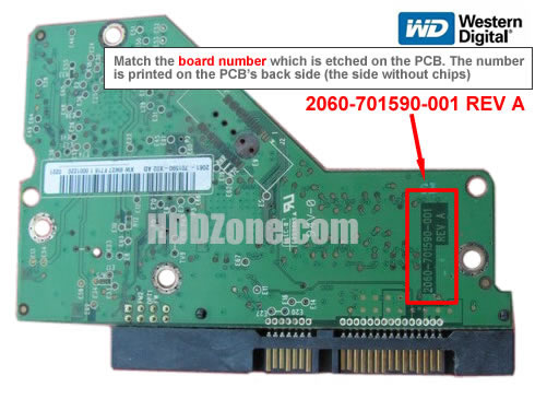 Western Digital Hard Drive PCB Swap Replacement Guide